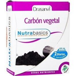Drasanvi Carbón Vegetal 60 caps