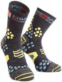 Compressport Pro Racing Socks v2.1 Winter Trail Gris