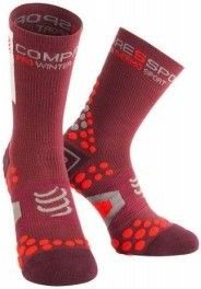 Compressport Pro Racing Socks v2.1 Winter Bike Granate