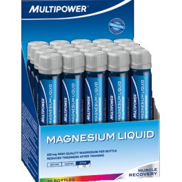 Multipower Magnesio Liquido 20 viales x 25 ml