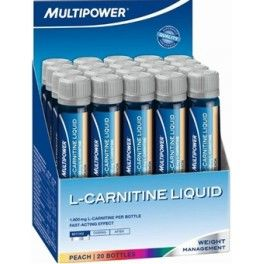 Multipower L-Carnitina Liquid 20 viales x 25 ml