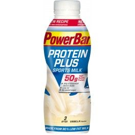 PowerBar Protein Plus Sports Milk 12 botellas x 500 ml