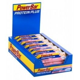 PowerBar Protein Plus + L-Carnitina 30 barritas x 35 gr