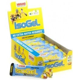 High5 IsoGel Plus con 100 mg de Cafeína 25 geles x 60 ml