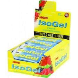 High5 IsoGel Plus con 30 mg de Cafeína 25 geles x 60 ml