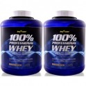 Pack BigMan 100% Professional Whey 2 Botes x 2.3 kg (5 lbs)
