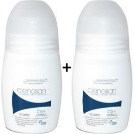 Pack Clenosan Desodorante con Microtalco Roll-on 2 botes x 75 ml