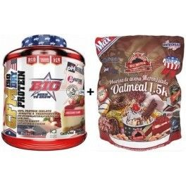 Pack BIG CFM ISO DRY Protein Isolate 1,8 kg + Max Protein Harina de Avena 1,5 kg