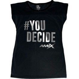 Amix Camiseta Mujer You Decide Negra
