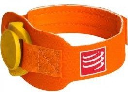 Compressport Cinta Porta Timing Chip Naranja