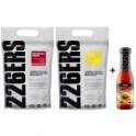 Pack 226ERS Recovery Drink 1 kg + Isotonic Drink 1 kg + Servivita Tomate