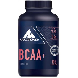 Multipower BCAA + Potasio + Vitamina B6 102 caps