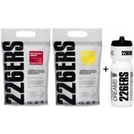 Pack 226ERS Recovery Drink 1 kg + Isotonic Drink 1 kg + Bidón 800 ml