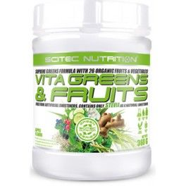 Scitec Nutrition Vita Greens & Fruits con Stevia 360 gr