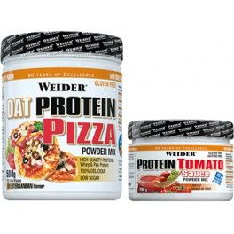 Pack Weider Oat Protein Pizza 500 gr + Protein Tomato Sauce 200 gr