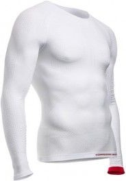 Compressport ON/OFF Multisport Shirt Long Sleeve Blanca
