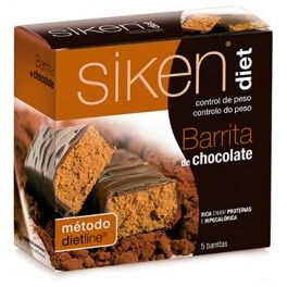 Siken Diet Barritas de Chocolate 5 barritas x 36 gr