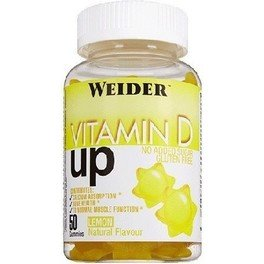 Weider Vitamin D UP 50 Gominolas