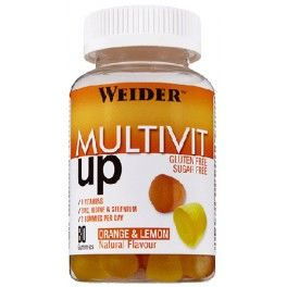 Weider Multivit UP Gummies - Multivitaminico 80 Gominolas