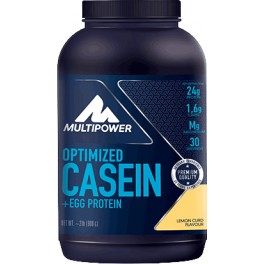 Cad.30/04/17 Multipower Optimized 100% Casein + EGG Protein 900 gr (2 lb)