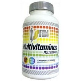 Iron Supplements Multivitaminas 120 caps