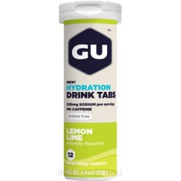 Cad.31/03/17 GU Energy Hydration Drink Tabs 1 tubo x 12 tabletas