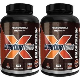 Pack Gold Nutrition Creatina Extreme Force 2 botes x 280 gr