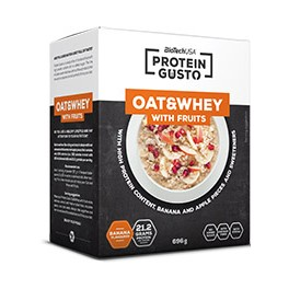 Cad-30/06/17 BioTechUSA Protein Gusto - Oat & Whey With Fruits 696 gr