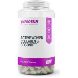 MyProtein Active Women Collagen & Coconut with Vitamin C - Colageno y Coco 60 caps