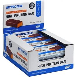 MyProtein Barritas High Protein Bar 12 barritas x 80 gr