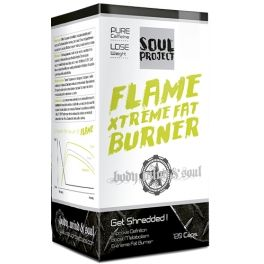 Soul Project Flame Xtreme Fat Burner 120 caps