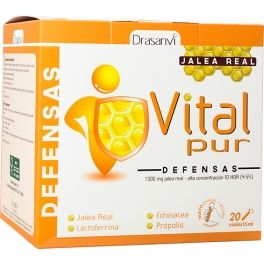 Drasanvi VitalPur Defensas-Jalea Real  20 viales x 15 ml