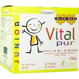 Drasanvi VitalPur Junior - Jalea Real  20 viales x 15 ml