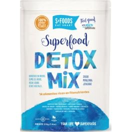 SFoods Superfood Detox Mix 210 gr