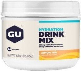 GU Energy Hydration Drink Mix con Cafeína 456 gr