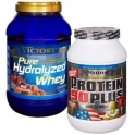 Pack Victory Pure Hydrolyzed Whey 1.5 kg + Weider Protein 90 Plus 750 gr