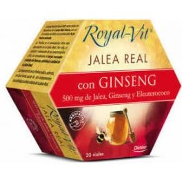 Royal-Vit Jalea Real Gingseng con Taurina 20 viales x 10 ml