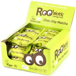 Roo Biotic Choco Chip Matcha Energy Ball, Organic 20 bolitas x 22 gr