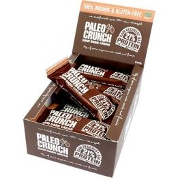 Paleo Crunch Raw Dark Cacao Protein Bar Organic 12 barritas x 48 gr