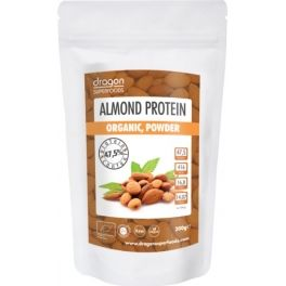 Dragon Superfoods Almond Protein Powder Organic 200 gr