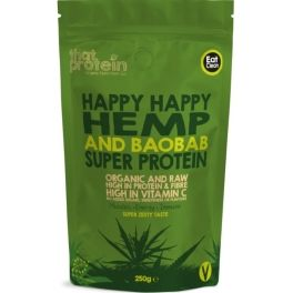 That Protein Happy Happy Hemp & Baobab Super Protein Organic 250 gr