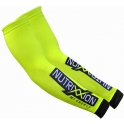 Nutrixxion Manguitos Armlinge Retro Team Amarillo Fluor