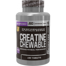 Nutrytec Creatine Chewable - Creatina Masticable 180 tabs