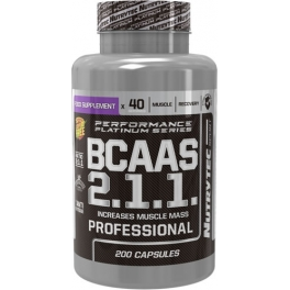 Nutrytec BCAA R2.1.1 (Platinum Performance) 200 caps