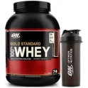 Pack Optimum Nutrition 100% Whey Gold Standard 5 Lbs (2,27 Kg) + Shaker 1000 ml