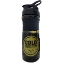 Gold Nutrition Shaker Mezclador Negro 700 ml