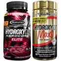 Muscletech Hydroxycut Max For Women 60 caps + Hardcore Elite 110 caps