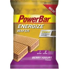 PowerBar Energize Wafer 1 pack x 2 barritas x 20 gr