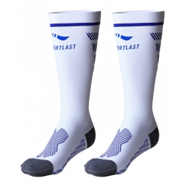 Sportlast Calcetines Largo Comprension Pro Running Everest Blanco-Azul