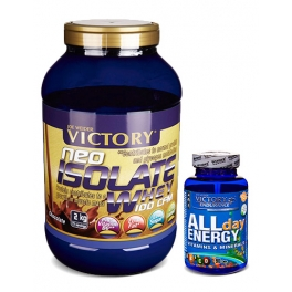 Pack Victory Neo Isolate Whey 100 CFM 2.2 Kg + Victory Endurance All Day Energy 90 caps